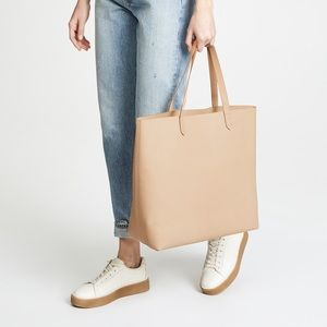 NWT Madewell Zip-Top Transport Tote in Linen